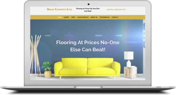 Giles Carpet New Website